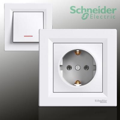 Schneider Electric, ASFORA Alpinweiss